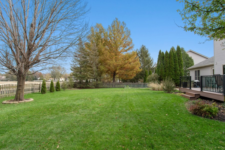 Real Estate Photography - 2611 Partlow Dr, Naperville, IL, 60564 - Back Yard