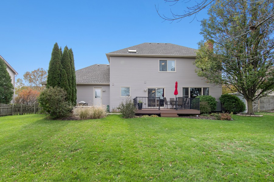 Real Estate Photography - 2611 Partlow Dr, Naperville, IL, 60564 - Rear View
