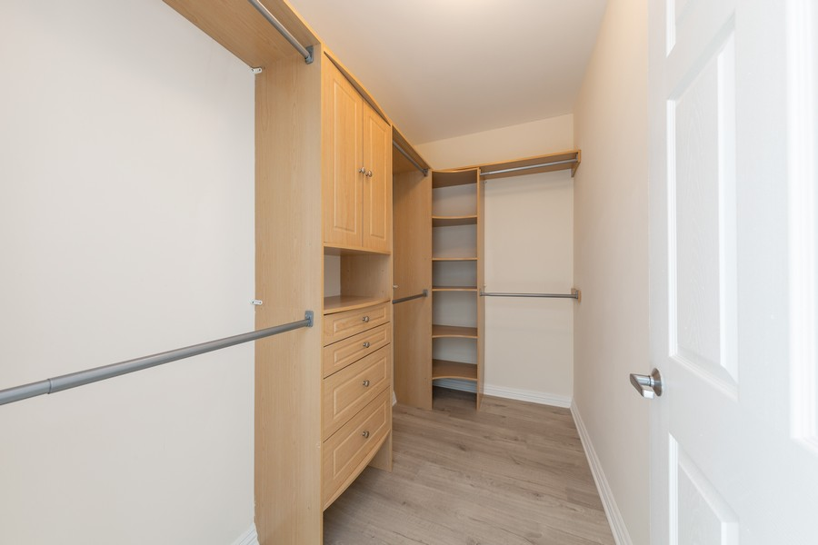Real Estate Photography - 600 North Dearborn St, 1908, Chicago, IL, 60654 - 2nd Bedroom walk-in-closet