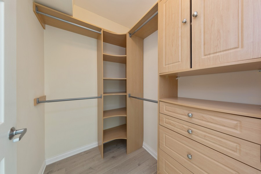 Real Estate Photography - 600 North Dearborn St, 1908, Chicago, IL, 60654 - Master Bedroom Closet