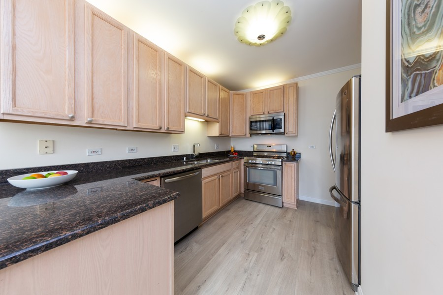 Real Estate Photography - 600 North Dearborn St, 1908, Chicago, IL, 60654 - Kitchen
