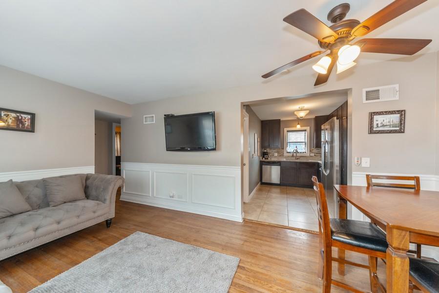 Real Estate Photography - 3124 Dora St, Franklin Park, IL, 60131 - Living Room