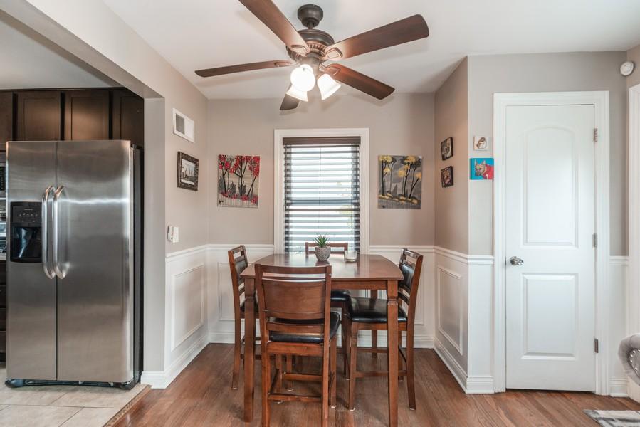 Real Estate Photography - 3124 Dora St, Franklin Park, IL, 60131 - Dining Room