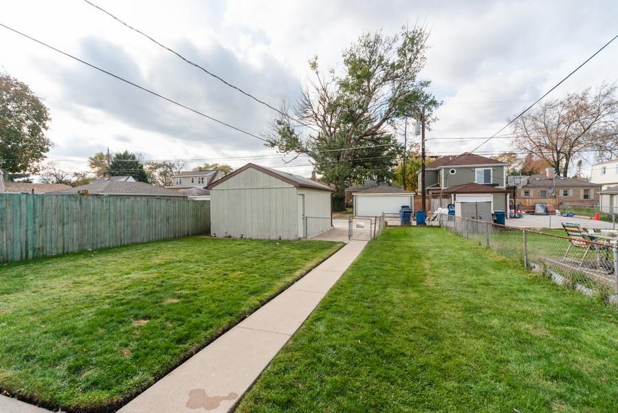 Real Estate Photography - 3124 Dora St, Franklin Park, IL, 60131 - Back Yard