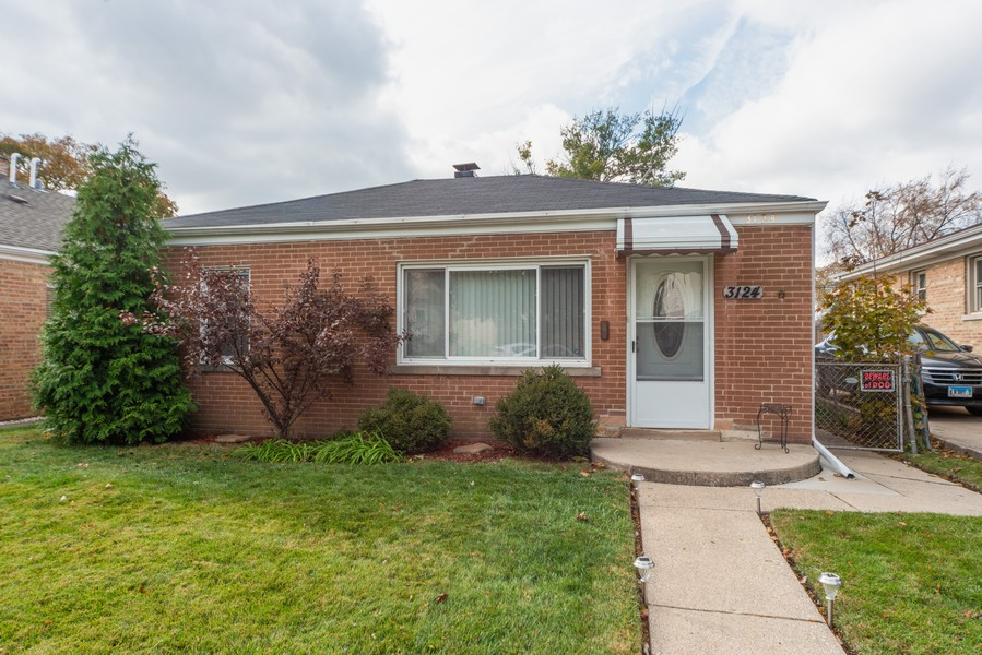 Real Estate Photography - 3124 Dora St, Franklin Park, IL, 60131 - Front View