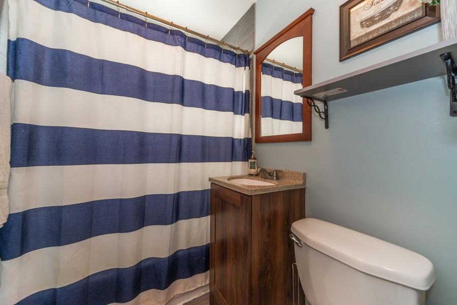 Real Estate Photography - 3124 Dora St, Franklin Park, IL, 60131 - Bathroom
