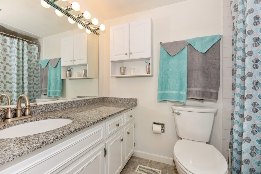 Real Estate Photography - 29 East Parliament Dr, 29, Palos Heights, IL, 60463 - Bathroom