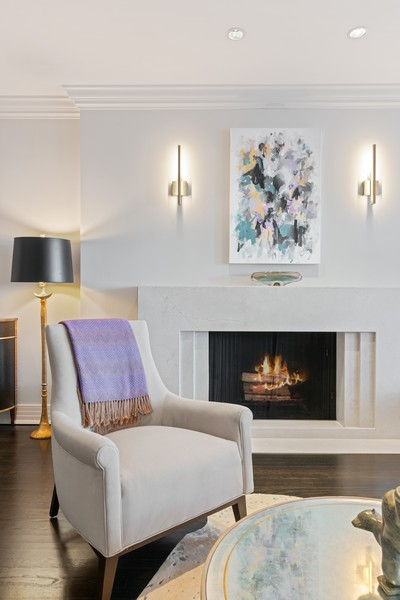 Real Estate Photography - 1540 North Lake Shore Dr, 3S, Chicago, IL, 60610 - Living Room