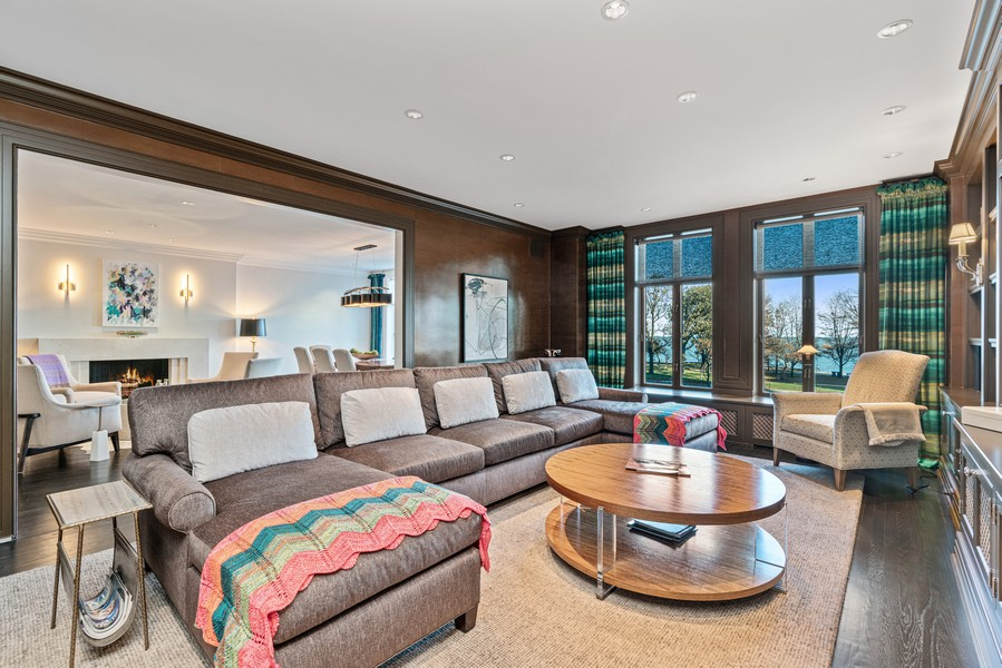 Real Estate Photography - 1540 North Lake Shore Dr, 3S, Chicago, IL, 60610 - Family Room/Living Room