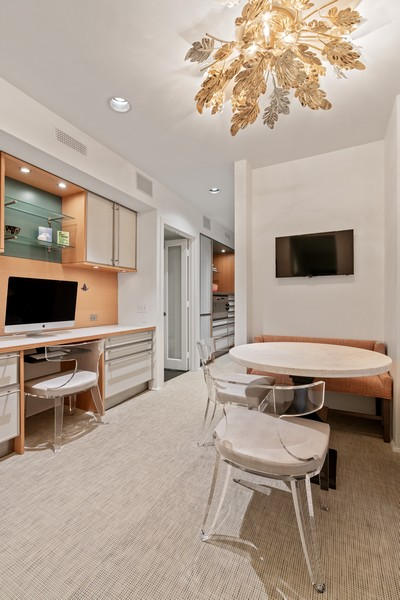 Real Estate Photography - 1540 North Lake Shore Dr, 3S, Chicago, IL, 60610 - Breakfast Room