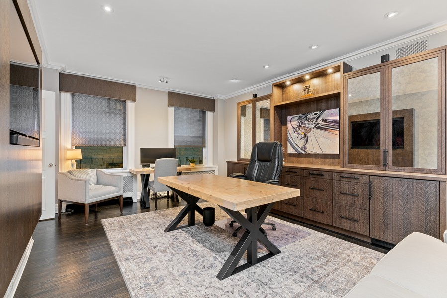Real Estate Photography - 1540 North Lake Shore Dr, 3S, Chicago, IL, 60610 - 3rd Bedroom/Office
