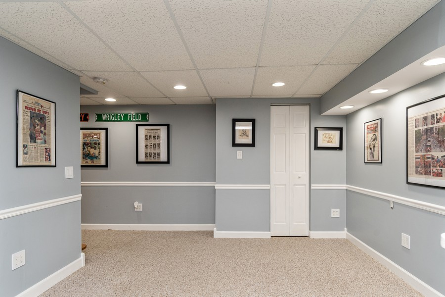 Real Estate Photography - 1165 Ancient Oaks Ct, Bartlett, IL, 60103 - Basement