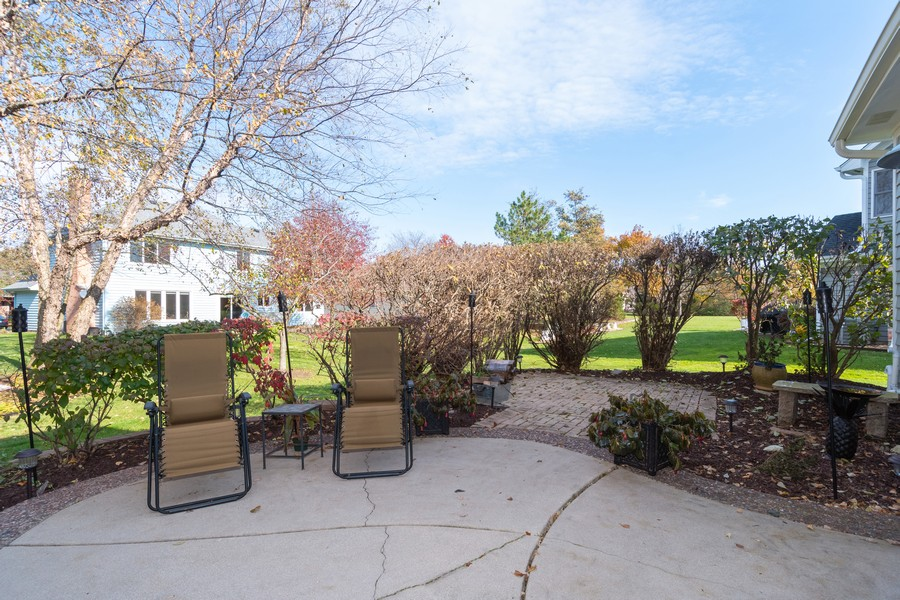 Real Estate Photography - 1165 Ancient Oaks Ct, Bartlett, IL, 60103 - Patio