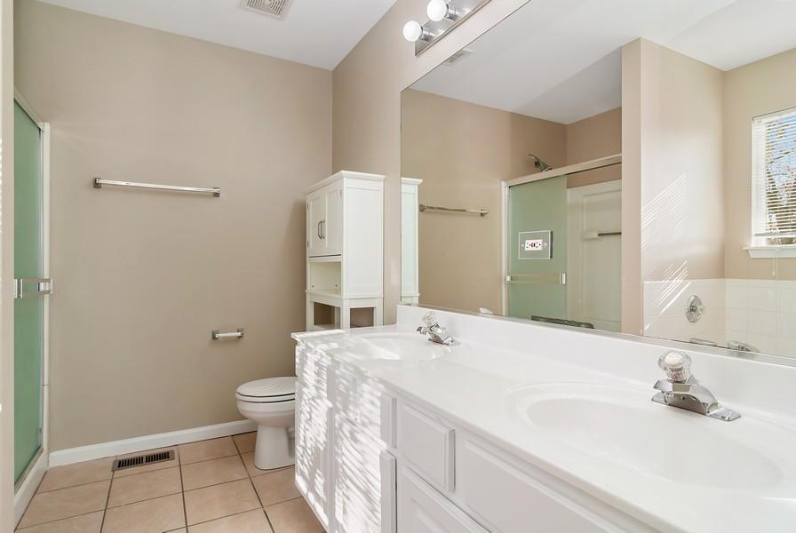 Real Estate Photography - 1884 Royal Ln, Aurora, IL, 60503 - Master Bathroom