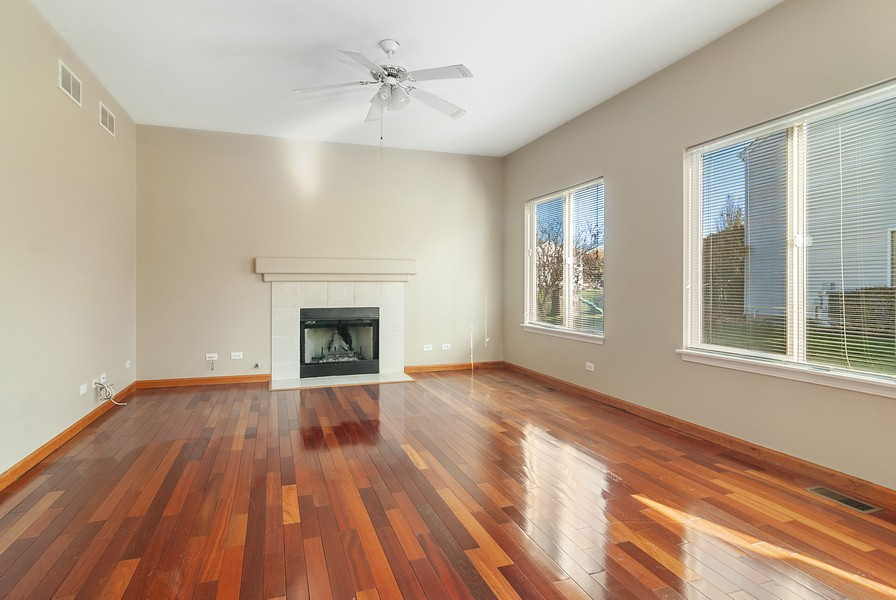 Real Estate Photography - 1884 Royal Ln, Aurora, IL, 60503 - Family Room