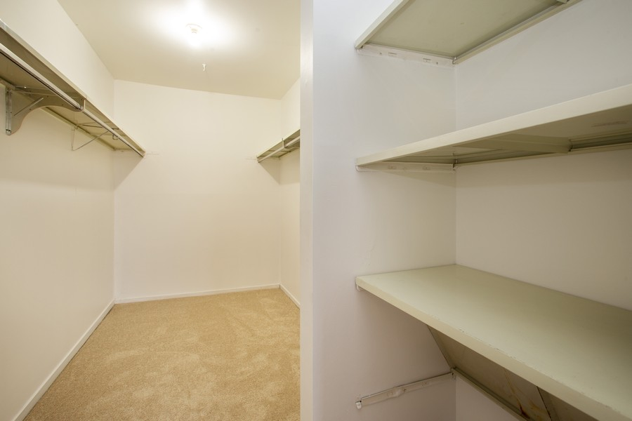Real Estate Photography - 608 South Waterford Rd, 3A, Schaumburg, IL, 60193 - Closet