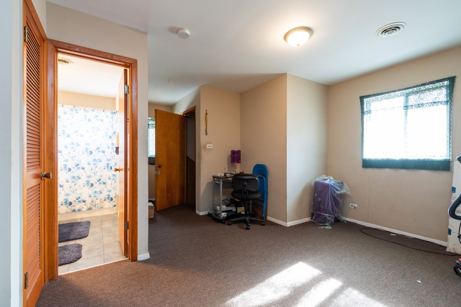 Real Estate Photography - 353 Suwanee St, Park Forest, IL, 60466 - 2nd Bedroom
