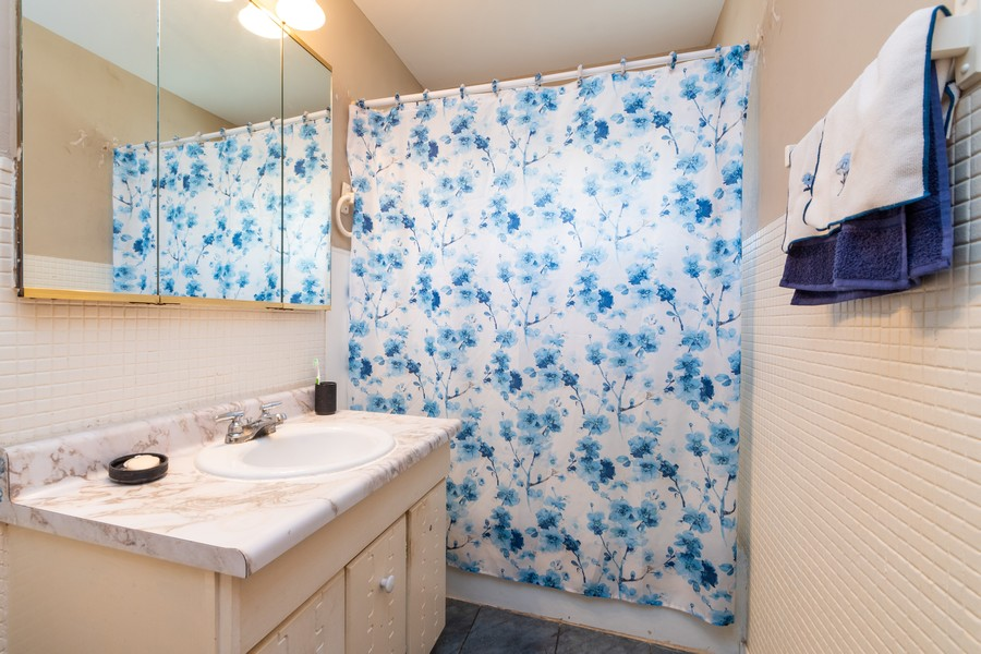 Real Estate Photography - 353 Suwanee St, Park Forest, IL, 60466 - 2nd Bathroom