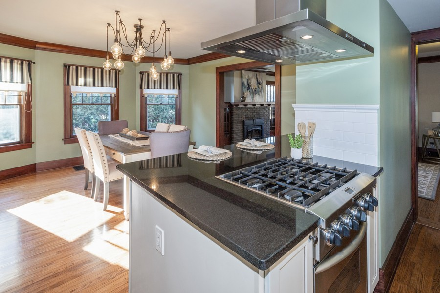 Real Estate Photography - 16 South Wright St, Naperville, IL, 60540 - Kitchen