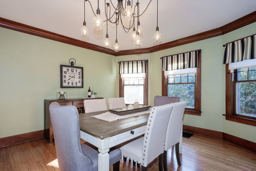 Real Estate Photography - 16 South Wright St, Naperville, IL, 60540 - Dining Room