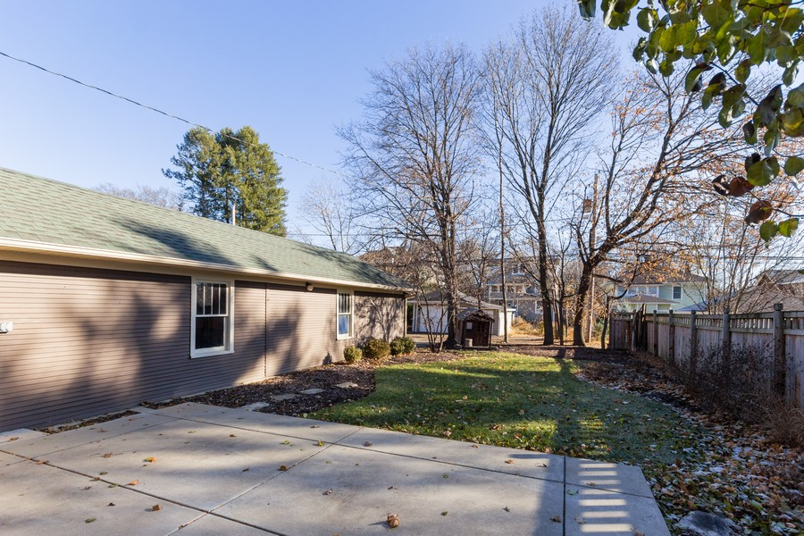 Real Estate Photography - 16 South Wright St, Naperville, IL, 60540 - Back Yard