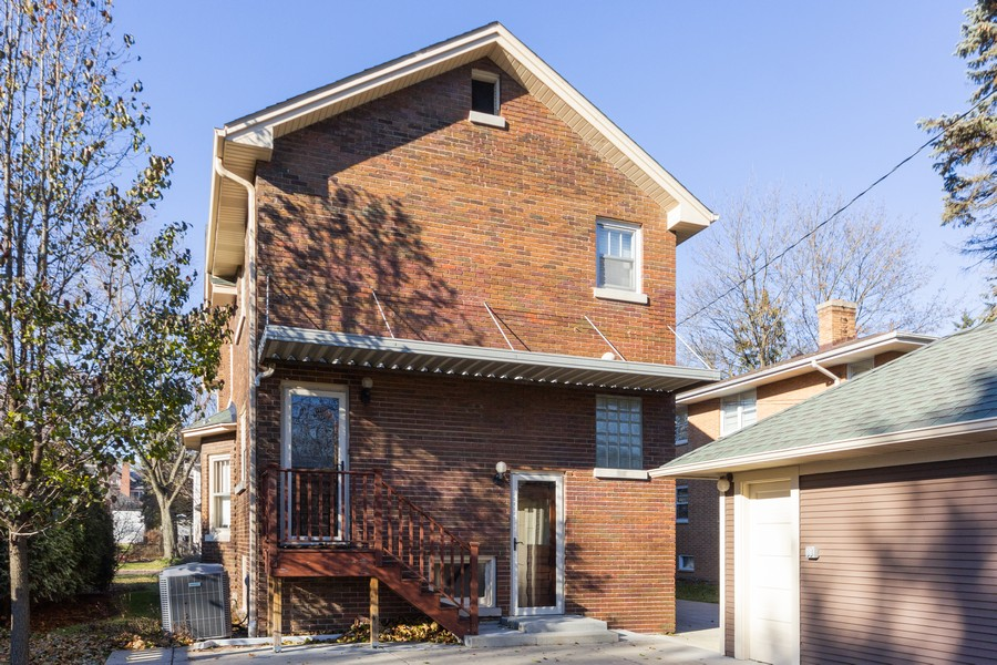 Real Estate Photography - 16 South Wright St, Naperville, IL, 60540 - Rear View
