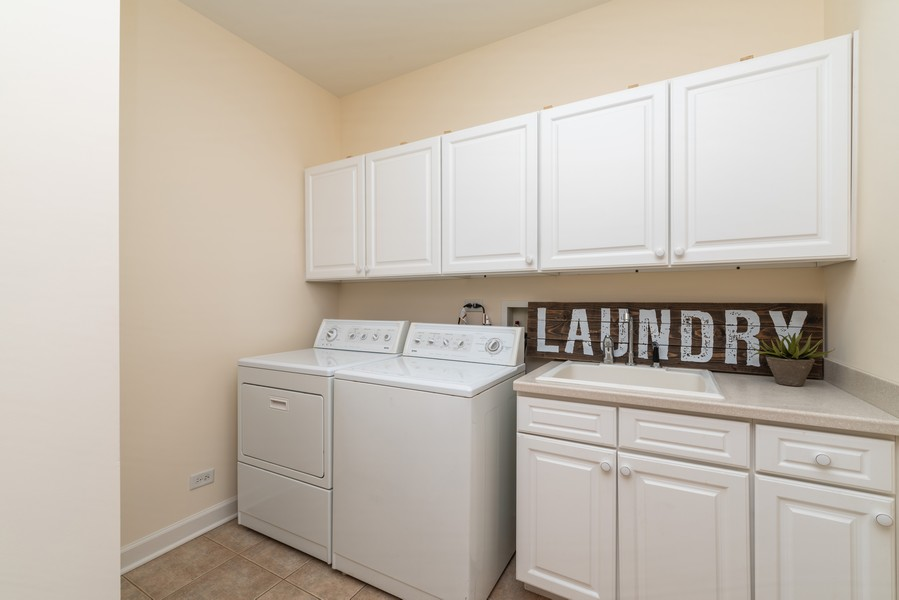 Real Estate Photography - 1917 Westleigh Dr, Glenview, IL, 60025 - Laundry Room
