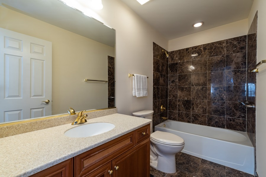 Real Estate Photography - 1917 Westleigh Dr, Glenview, IL, 60025 - 2nd Bathroom