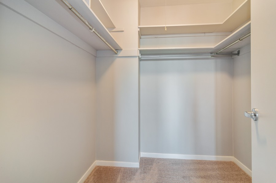Real Estate Photography - 2626 North Lakeview Ave, 3803, Chicago, IL, 60614 - Master Bedroom Closet