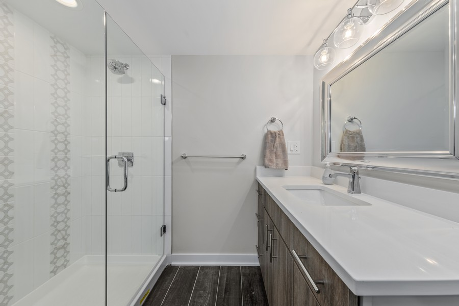 Real Estate Photography - 216 Shady Ln, Downers Grove, IL, 60515 - Master Bath