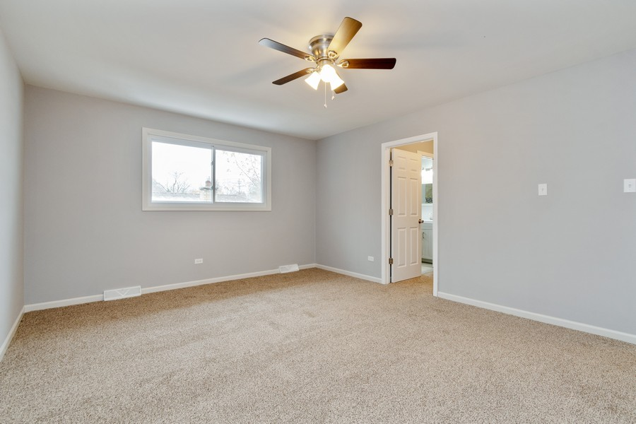 Real Estate Photography - 16507 Ellis Ave, South Holland, IL, 60473 - Master Bedroom