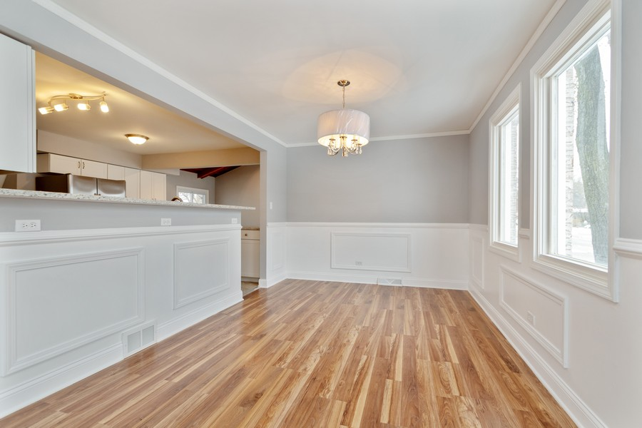 Real Estate Photography - 16507 Ellis Ave, South Holland, IL, 60473 - Dining Room