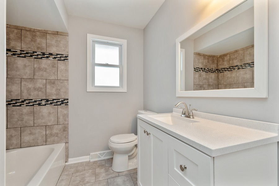 Real Estate Photography - 16507 Ellis Ave, South Holland, IL, 60473 - Bathroom