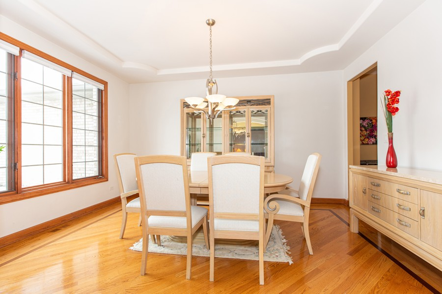 Real Estate Photography - 416 Shadow Creek Dr, Palos Heights, IL, 60463 - Dining Room