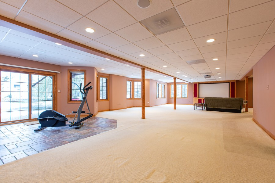 Real Estate Photography - 416 Shadow Creek Dr, Palos Heights, IL, 60463 - Basement
