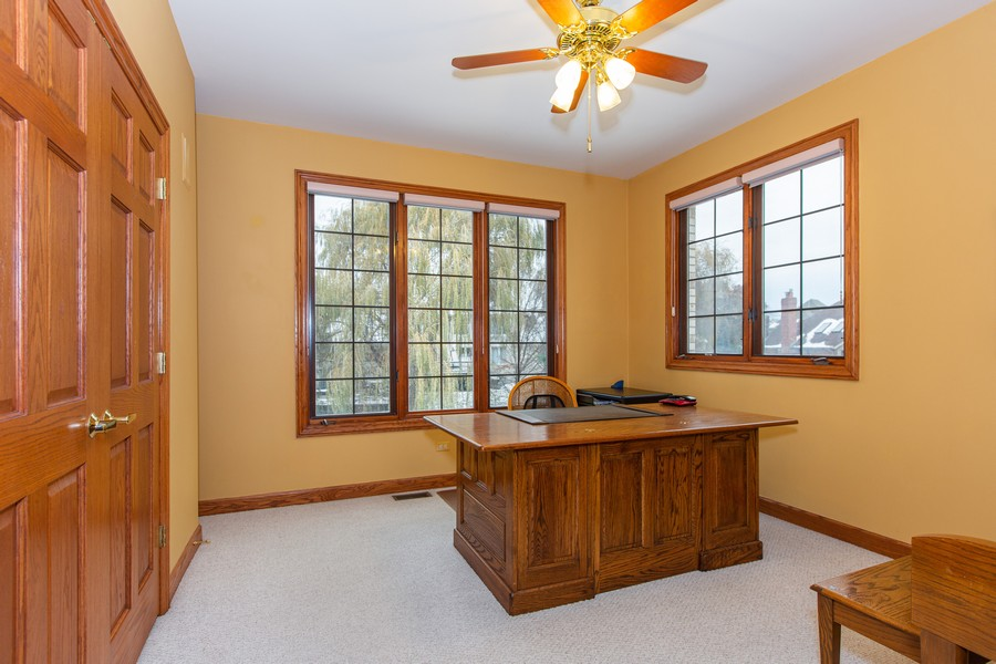Real Estate Photography - 416 Shadow Creek Dr, Palos Heights, IL, 60463 - Office