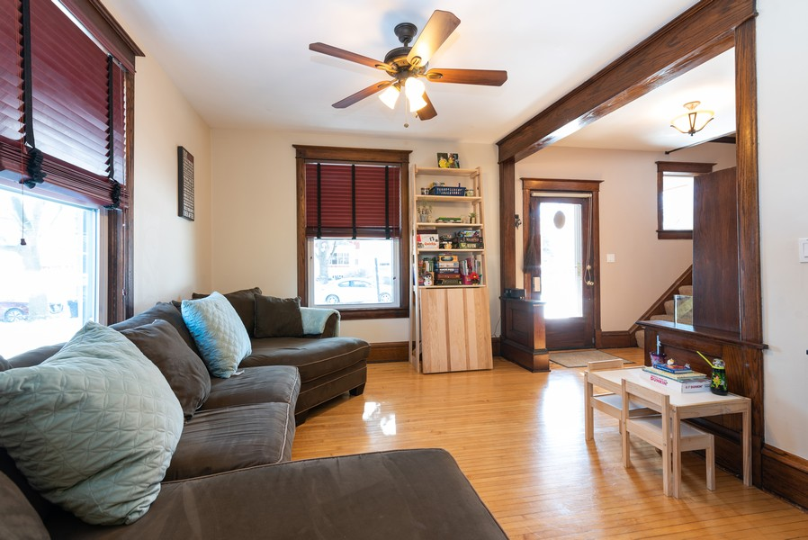 Real Estate Photography - 516 South St, Elgin, IL, 60123 - Living Room