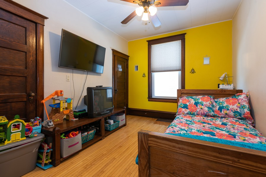 Real Estate Photography - 516 South St, Elgin, IL, 60123 - 2nd Bedroom