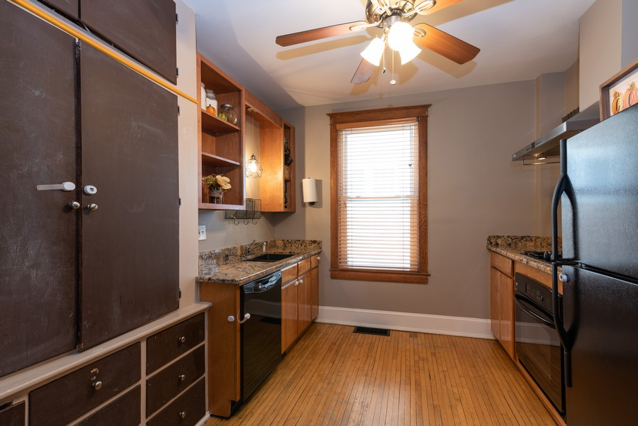 Real Estate Photography - 516 South St, Elgin, IL, 60123 - Kitchen