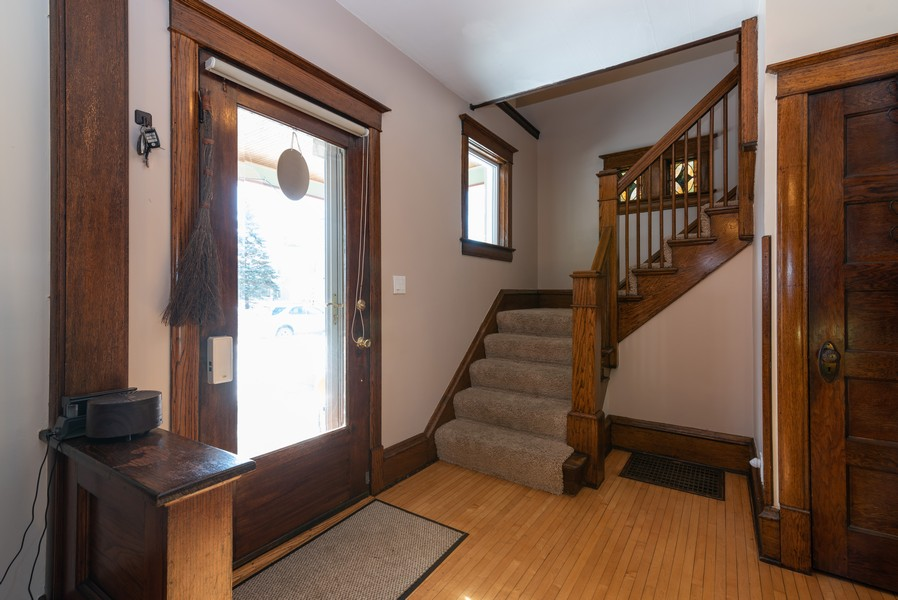 Real Estate Photography - 516 South St, Elgin, IL, 60123 - Foyer