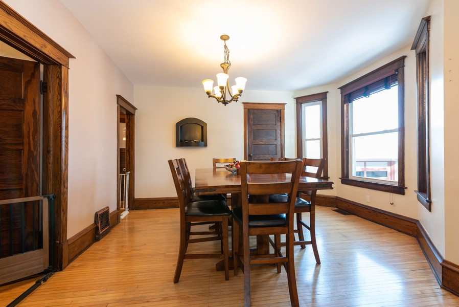 Real Estate Photography - 516 South St, Elgin, IL, 60123 - Dining Room