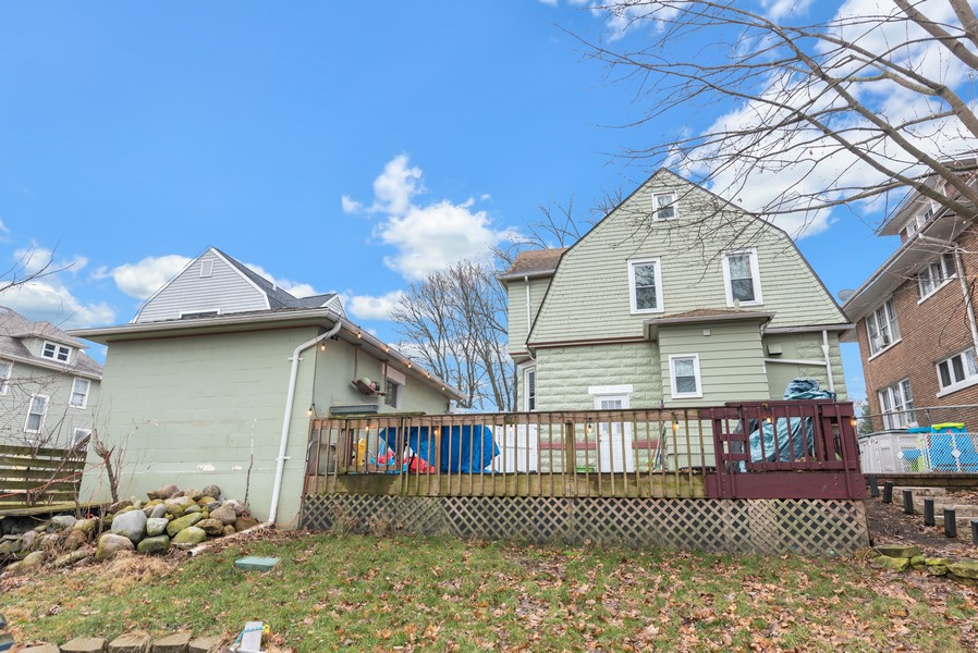 Real Estate Photography - 516 South St, Elgin, IL, 60123 - Rear View