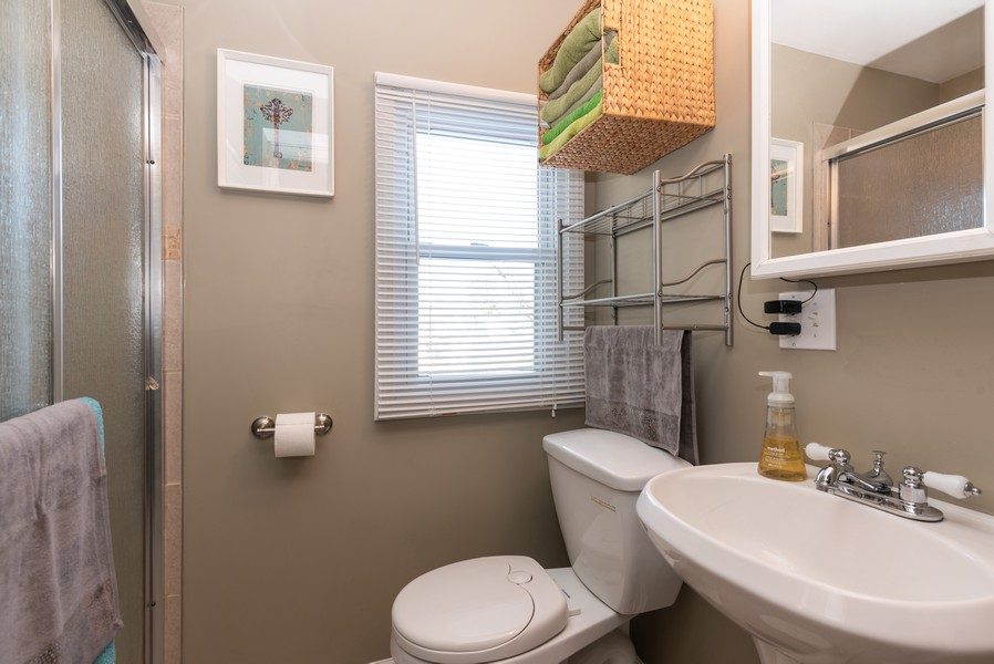 Real Estate Photography - 516 South St, Elgin, IL, 60123 - Bathroom
