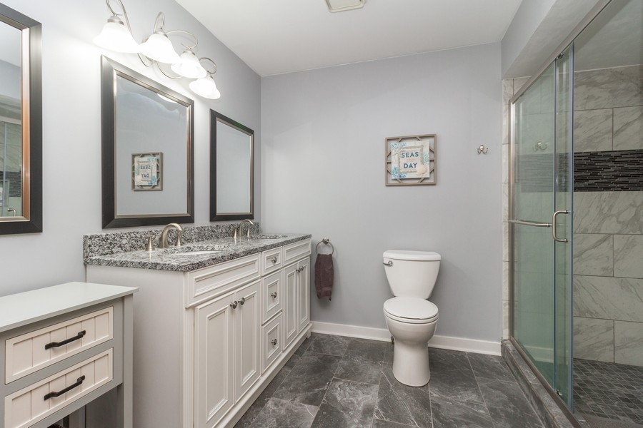Real Estate Photography - 9222 Whitehall Ln, Orland Park, IL, 60462 - Master Bathroom