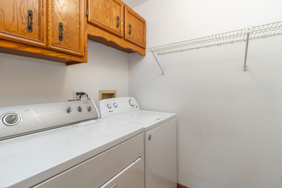 Real Estate Photography - 9222 Whitehall Ln, Orland Park, IL, 60462 - Laundry Room