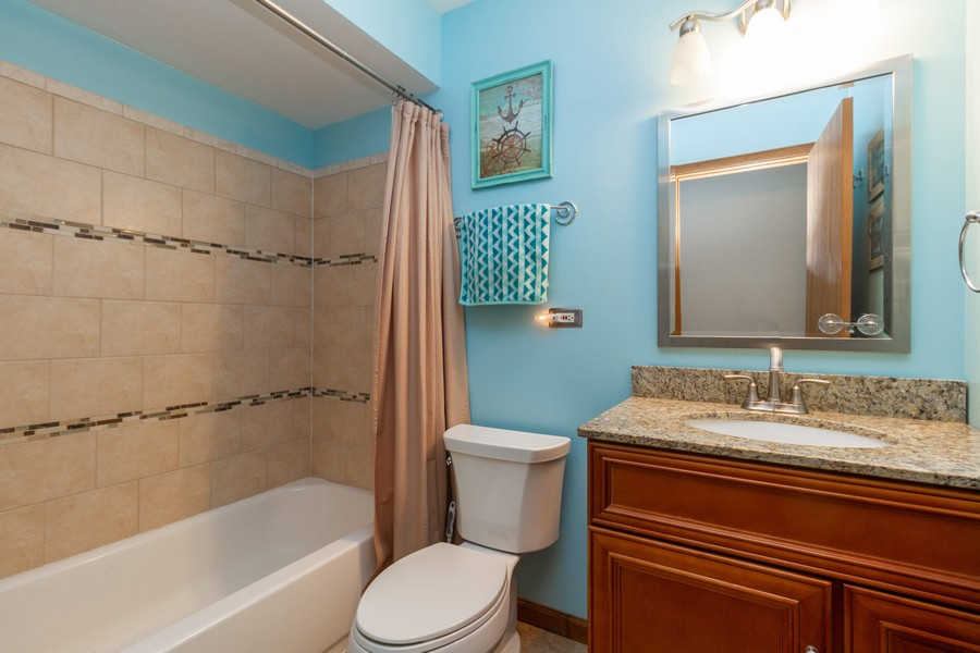 Real Estate Photography - 9222 Whitehall Ln, Orland Park, IL, 60462 - 2nd Bathroom