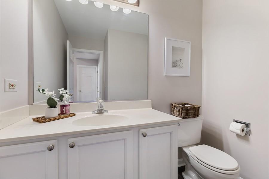 Real Estate Photography - 191 Wellington Ct, Grayslake, IL, 60030 - Powder Room
