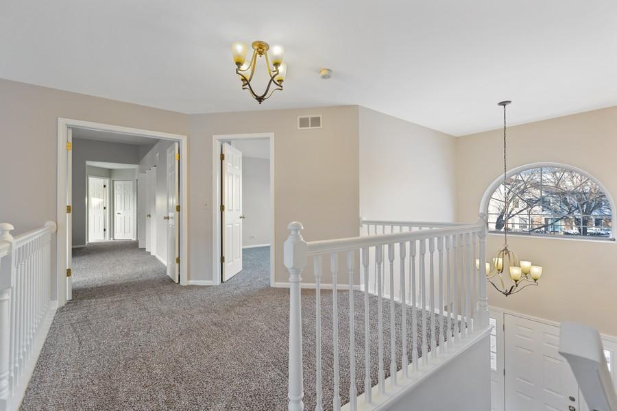 Real Estate Photography - 191 Wellington Ct, Grayslake, IL, 60030 - Second Floor Loft
