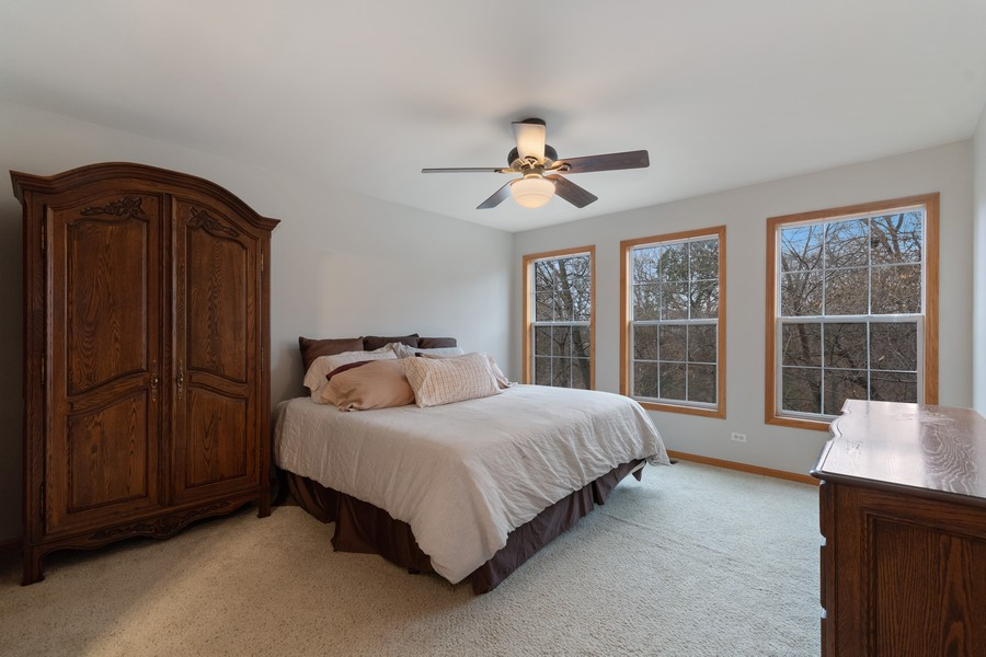 Real Estate Photography - 757 Prescott Ct, Naperville, IL, 60563 - Master Bedroom