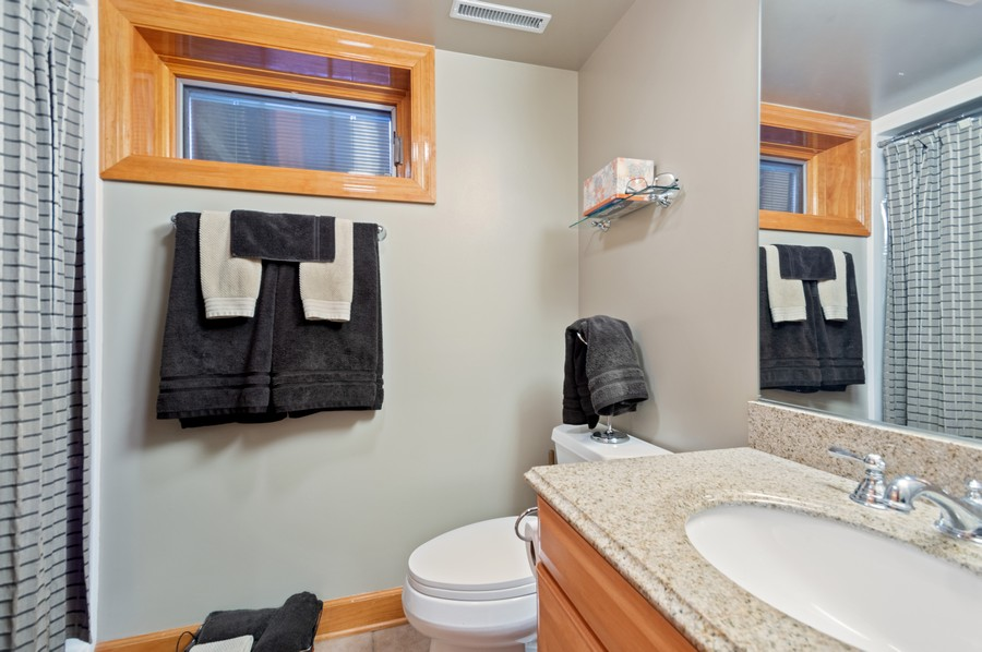 Real Estate Photography - 7004 North Mcalpin Ave, Chicago, IL, 60646 - 3rd Bathroom